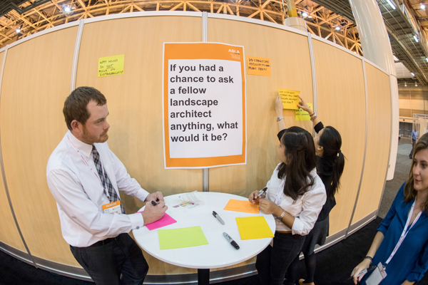 Also in PPN Lounge: a chance for attendees to sound off on what they'd like to find out from their PPN peers image: Event Photography of North America Corporation (EPNAC)
