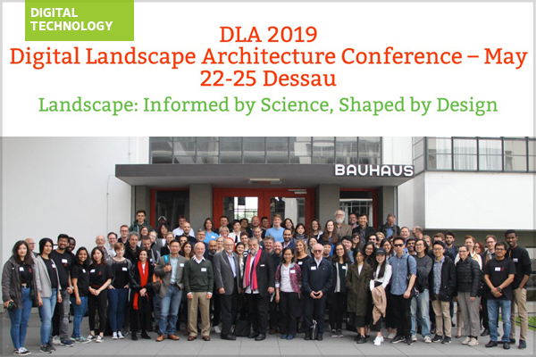 Digital Landscape Architecture Conference attendees
