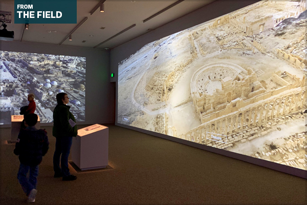 Palmyra's theatre reconstructed