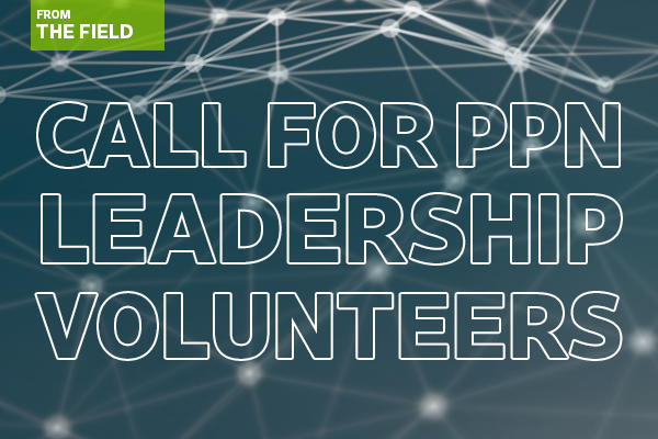The call for Professional Practice Network leadership volunteers is open now.