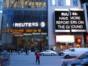 Reuters building in New York. Image Credit: EternalSlepper