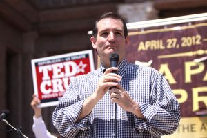 Ted Cruz Speaking at the Tea Party Express. Image credit: AlbertHerring