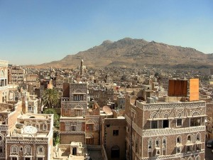 "The capital of Yemen. Image Source: ""San'a03 flickr"" by ai@ce - Flickr."