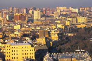 Baku, Azerbaijan. It's not a tiny undeveloped country.  Image Source: David Davidson, Flickr, Creative Commons