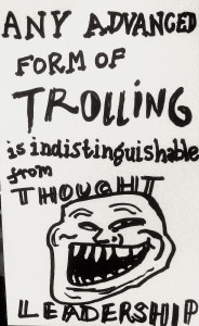 Trolling. Image Source: Paul Downey, Flickr, Creative Commons