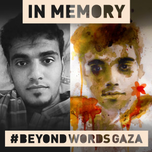 Khalid Abdul Sattar Sahmoud Age: 20 #BeyondWordsGaza
