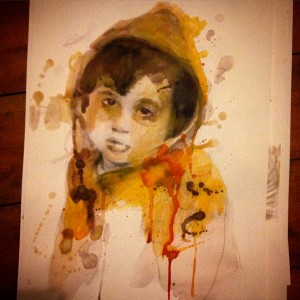 Sara Omar Ahmed Sheikh al-Eid  Age: 4 Image Source: #BeyondWordsGaza