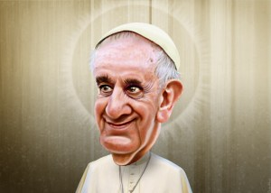 Pope Francis Image Source: DonkeyHotey, Flickr, Creative Commons