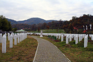 Monument to Srebrenica Image Source: Kathleen Franklin, Flickr, Creative Commons