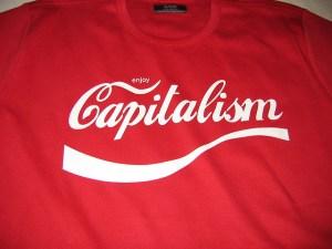 Enjoy Capitalism Image Source: Jacob Bøtter, Flickr, Creative Commons