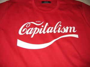 Enjoy Capitalism Image Source: Jacob Bøtter, Flickr, Creative Commons