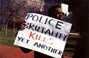 Police brutality kills yet another.  Image Source: Elvert Barnes, Flickr, Creative Commons