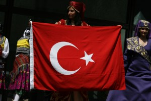 Turkish flag Image Source: Quinn Dombrowski, Flickr, Creative Commons