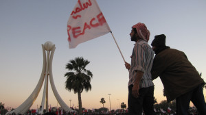Bahrain peace. Image Source: Al Jazeera English, Flickr, Creative Commons.