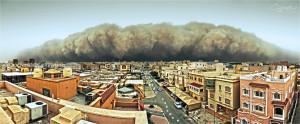 Kuwait Sandstorm Image source: zaldz cayanan, Flickr, Creative Commons