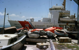 Stack of refugee boats. Image Source: Florida Keys - Public Libraries, Flickr, Creative Commons