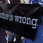 Torture is wrong Image Source: takomabibelot, Flickr, Creative Commons