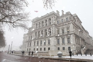 Foreign & Commonwealth Office in Winter