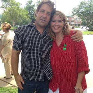 Joe Grumbine of The Human Solution International and Jennifer Winn Photo by Mike Shatz Kansas Exposed