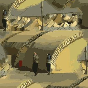 Image Source: Jon Phillips, Flickr, Creative Commons Syrian Refugee Arch Building Tents Infinite Pattern. https://openclipart.org/detail/226910/Syrian-Refugees-Arch-Buildings #openclipart #freebassel #day #1271 #laborday