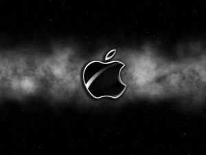 Image Source: Feras Hares, Flickr, Creative Commons Apple Space Wallpaper-Black  Black Version of the Wallpaper