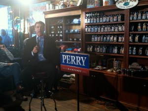 Image Source: WEBN-TV , Flickr, Creative Commons Rick Perry Rick Perry campaigns in Pella, Iowa on Dec. 28, 2011. Credit: Kate Spalla for WEBN-TV Boston