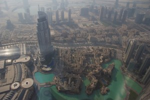Image Source: Andrew Moore, Flickr, Creative Commons Morning Haze View from the Burj Khalifa's observation platform