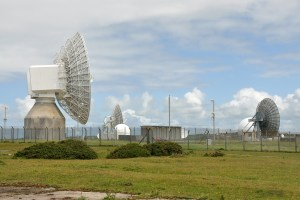 GCHQ dish array. Image Source: Nilfanion, Wikimedia, Creative Commons