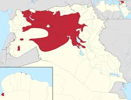 ISIS territory control. Image Source: NordNordWest, Spesh531