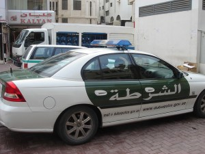 Image Source: David Lisbona, Flickr, Creative Commons Dubai police car