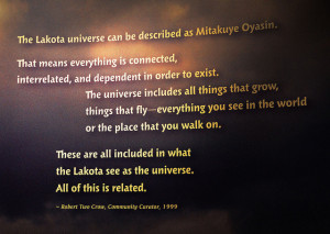 Image Source: Tim Evanson Flickr, Creative Commons Lakota Universe - Smithsonian National Museum of the Native American - 2012