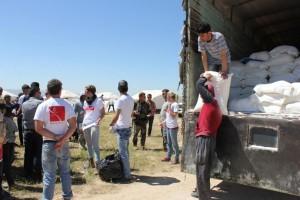 Relief workers in Kurdistan Image Source: The Kurdish Project