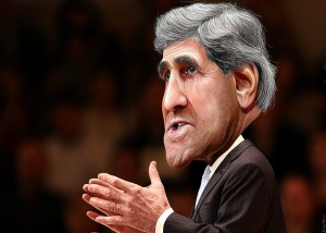 Image Source: DonkeyHotey, Flickr, Creative Commons John Kerry - Caricature