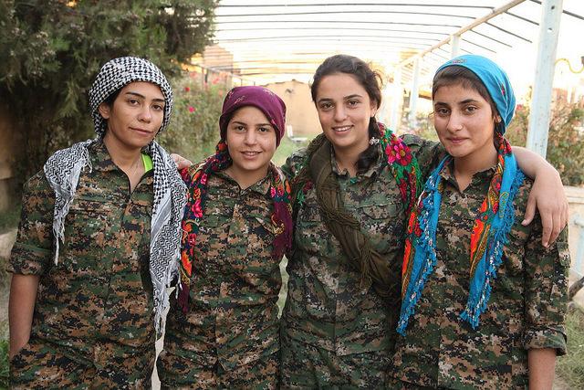 Image Source: Kurdishstruggle, Flickr, Creative Commons Kurdish YPG Fighters