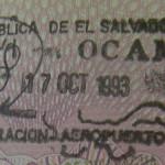 Image Source: Tony Bowden, Flickr, Creative Commons El Salvador Passport Stamp