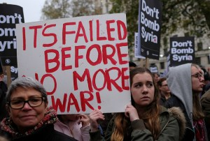 Image Source: Alisdare Hickson, Flickr, Creative Commons It's failed before - No more war !
