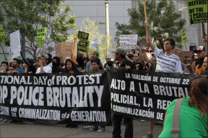 Photo Credit: Mat Inman, Flickr United march against police brutality.