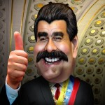 Image Source: DonkeyHotey, Flickr, Creative Commons Nicolás Maduro - Caricature