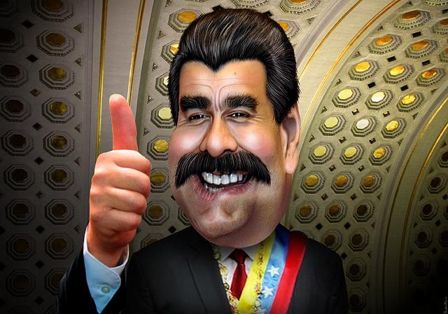Image Source: DonkeyHotey, Flickr, Creative Commons Nicolás Maduro - Caricature