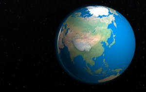 Image Source: Dan Markeye Flickr, Creative Commons Globe - East-Asia space view