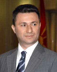 ex-Prime Minister Nikola Gruevski - WIkimedia Commons
