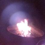 Let's talk about a staycation bonfire....