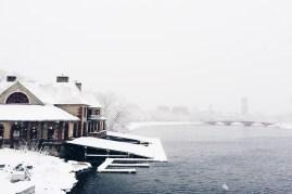Weld in a blizzard