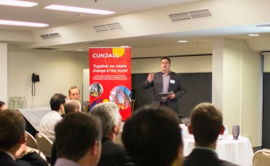 Cundall's David Collins Introducing the evening