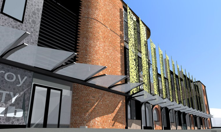 Concept design for the 6 Star Green Star North Fitzroy Hub