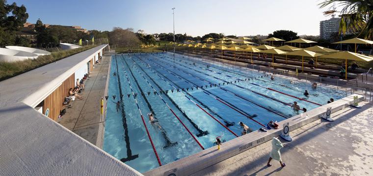 The Prince Alfred Park Pool Upgrade. Image: Brett Boardman