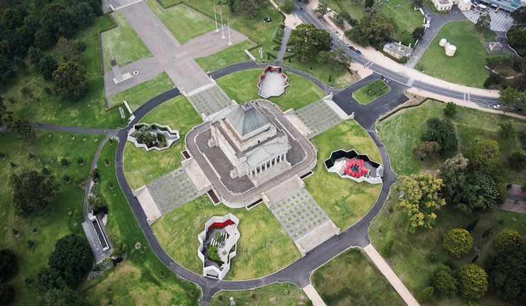 The Shrine of Remembrance – Galleries of Remembrance. Image: John Gollings