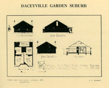 Daceyville Garden suburb (first prize for single cottage), PTW Architects