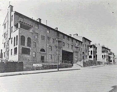 Pyrmont Dwellings (Ways Terrace), City of Sydney Archives.
