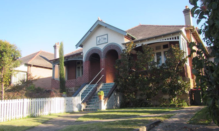 A now-demolished house on Wattle Street. Image: Paul Vonwiller.